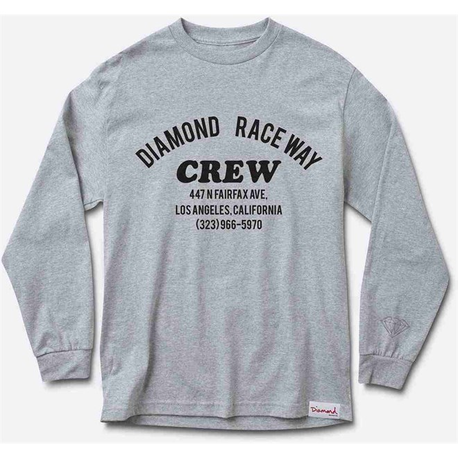 triko DIAMOND - Raceway Heather Grey *Do Not Use* (HEGY)