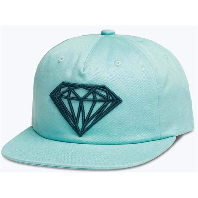 kšiltovka DIAMOND - Brilliant Unconstructed Sb Diamond Blue (DBLU)