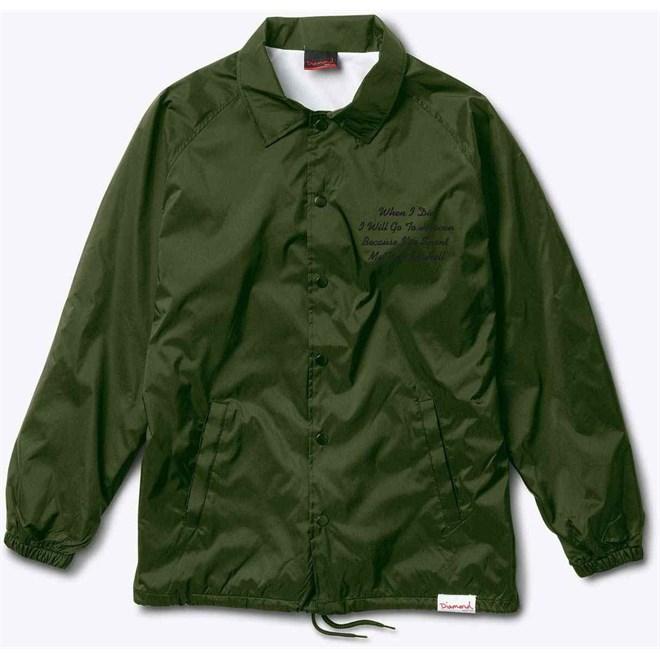 bunda DIAMOND - Pacific Tour Coach Military Green *Do Not Use* (MGRN)