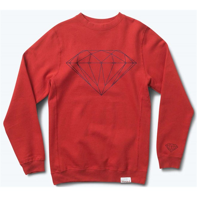 mikina DIAMOND - Brilliant Red (RED)