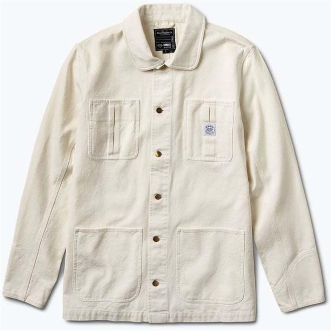 bunda DIAMOND - Woodland Canvas Jacket Cream (CREAM)