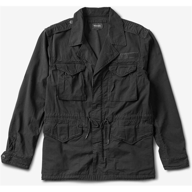 bunda DIAMOND - Bombay M65 Jacket Black (BLK)