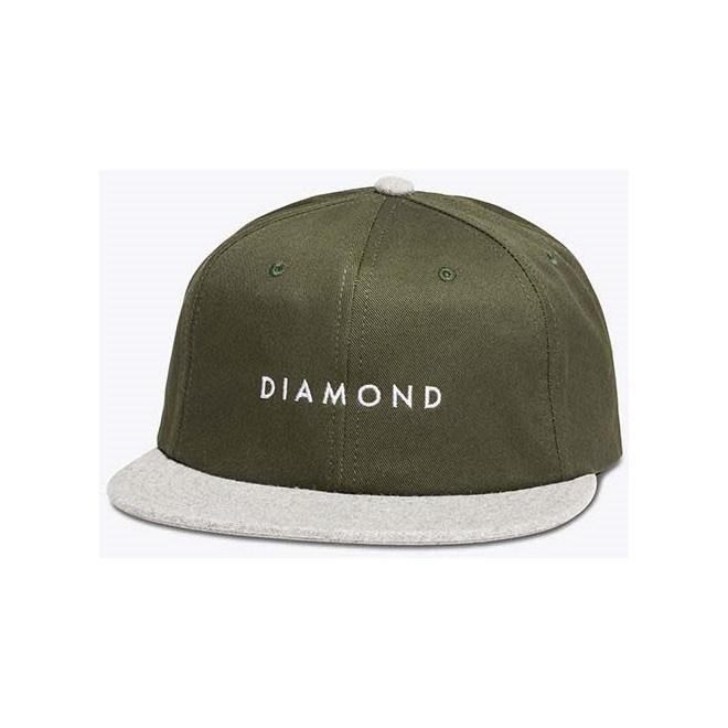 kšiltovka DIAMOND - Leeway Unstructured Green   (GRN)