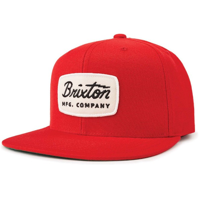 kšiltovka BRIXTON - Jolt Snapback Red (RED)