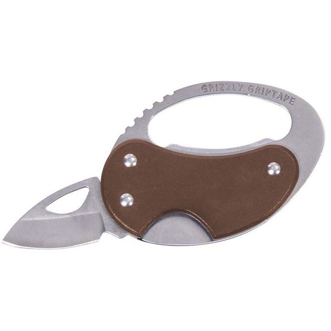 nůž GRIZZLY - Grizzly Griptape Knife Brn (BRN)