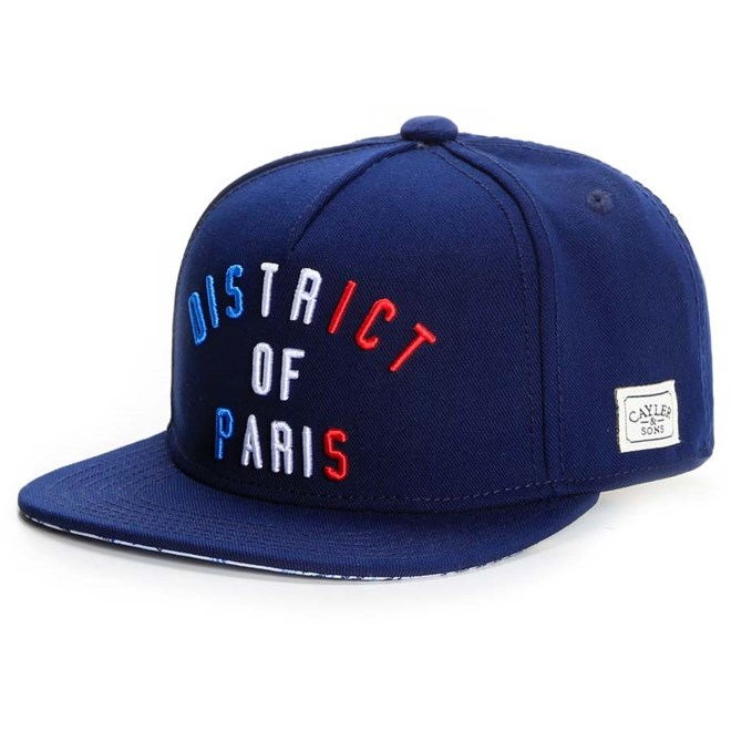 kšiltovka CAYLER & SONS - District Of Paris (NAVY RED WHITE)