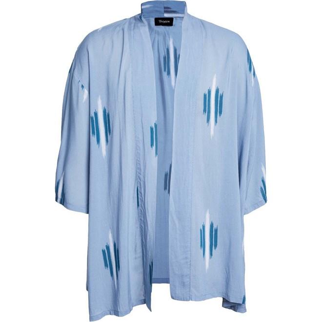 kimono BRIXTON - Evangeline Kimono Blue Stone (BLSTO)