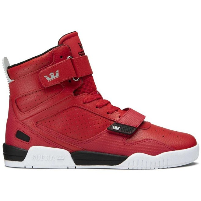 boty SUPRA - Breaker Red-Black/White (662)