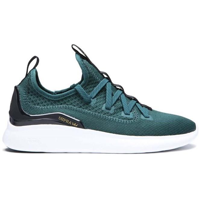 Schuhe SUPRA - Factor Evergreen-White (320)