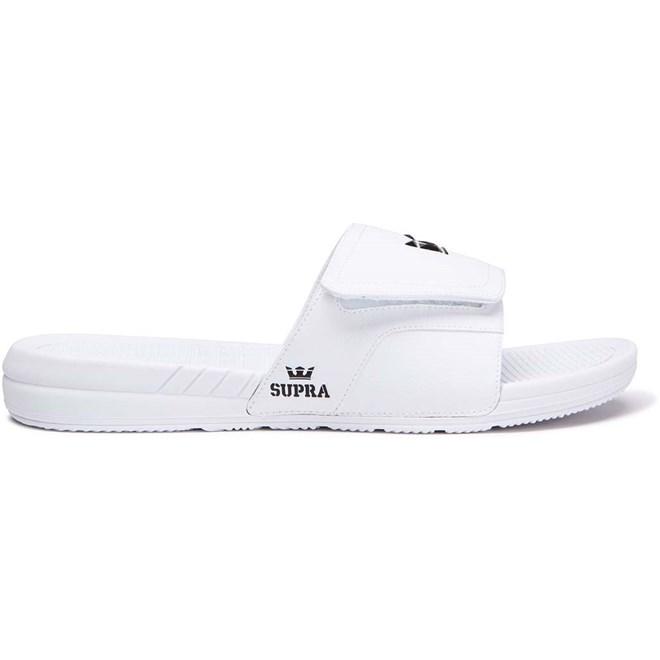 boty SUPRA - Locker White (100)