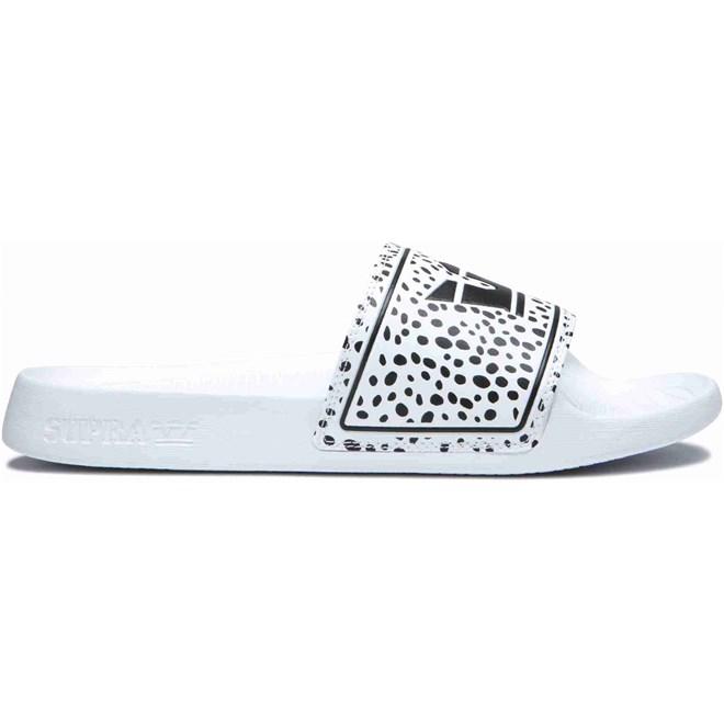 pantofle SUPRA - Lockup Spot-White (175)