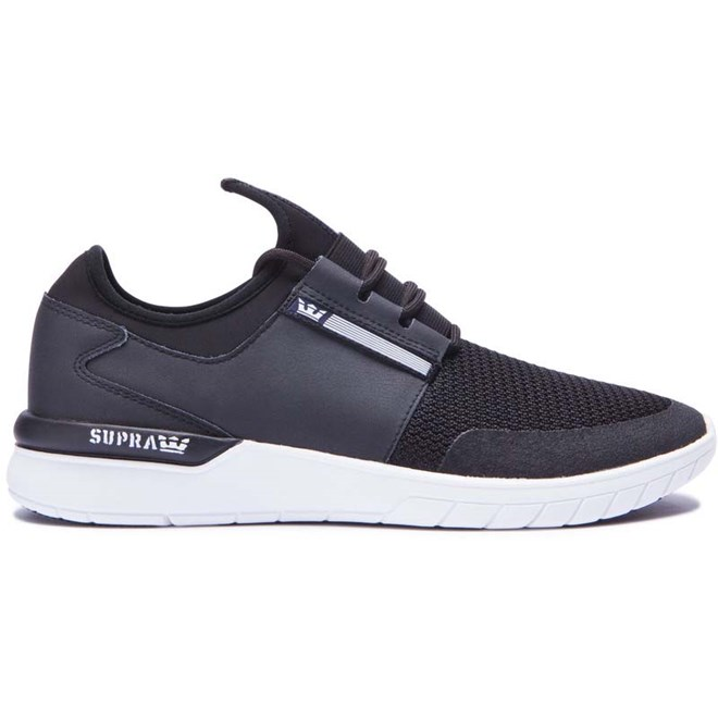 boty SUPRA - Flow Run Black-Black-White (091)