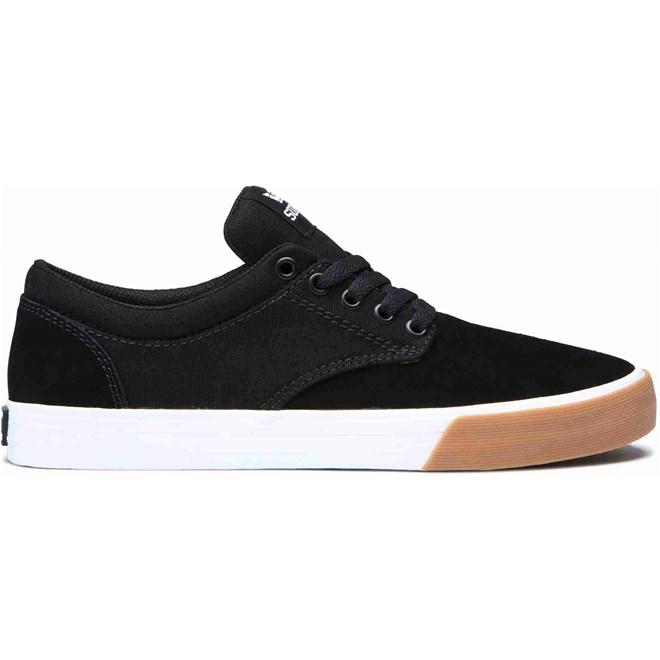 Schuhe SUPRA - Chino Black-White-Gum (031)
