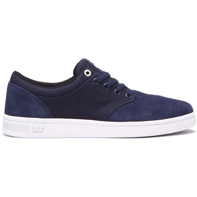 boty SUPRA - Chino Court Navy-White (401)