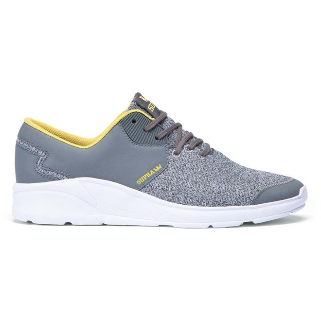 boty SUPRA - Noiz Grey  Heather/Charcoal-Wht (GCH)