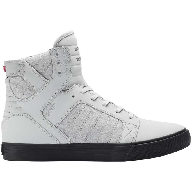 boty SUPRA - Skytop Light Grey/Plaid-Black (059)