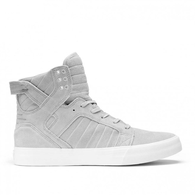 boty SUPRA - Skytop Light Grey/White (042)