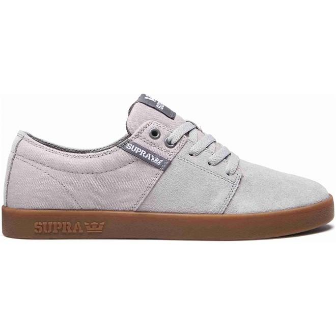 boty SUPRA - Stacks Ii Lt Grey-Grey-Gum (079)