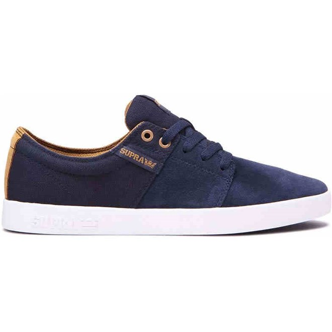 boty SUPRA - Stacks Ii Navy/Tan-White (455)
