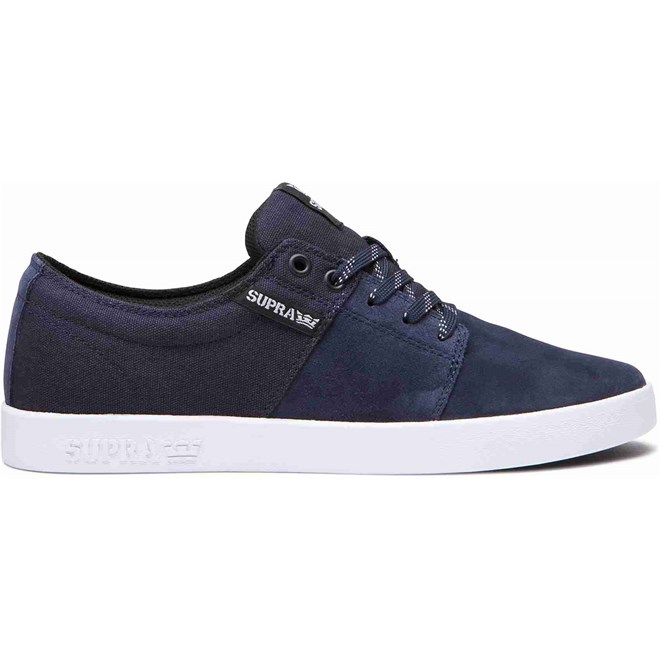 buty SUPRA - Stacks Ii Navy-White-White (472)