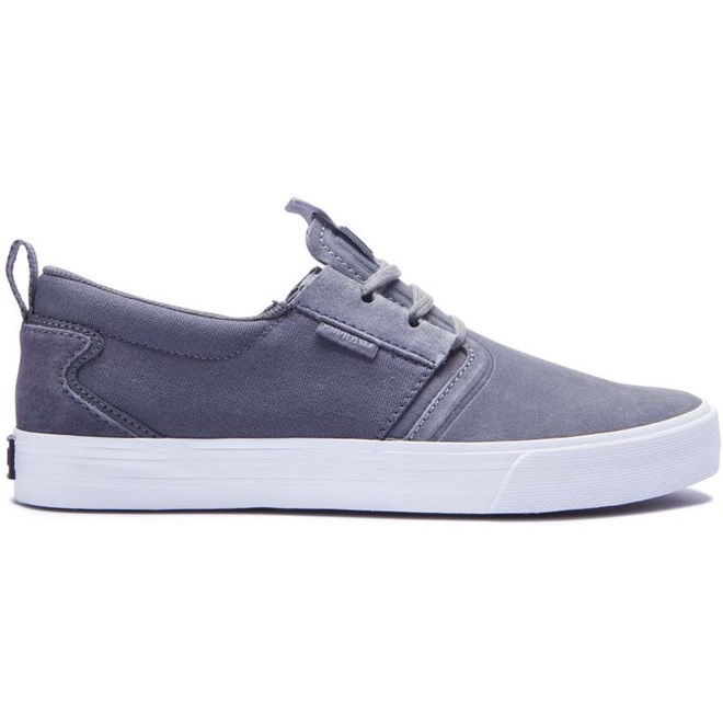 boty SUPRA - Flow Grey-White (015)
