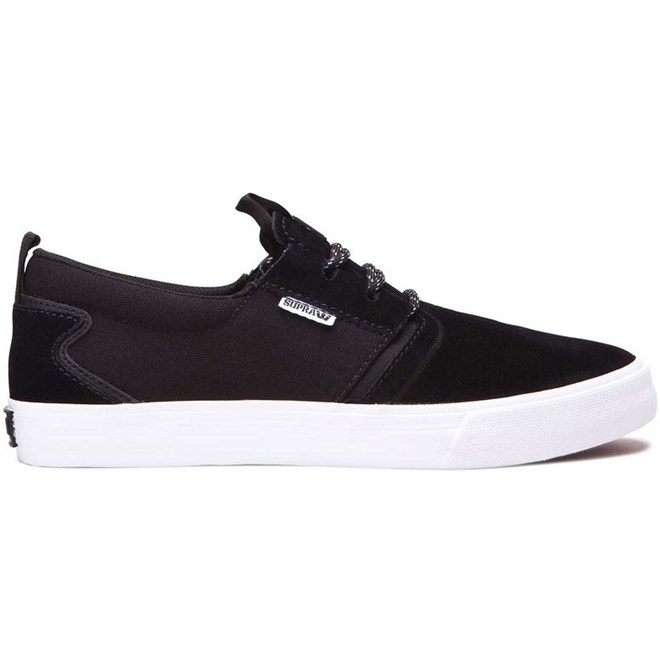 boty SUPRA - Flow Black/Black-White (033)