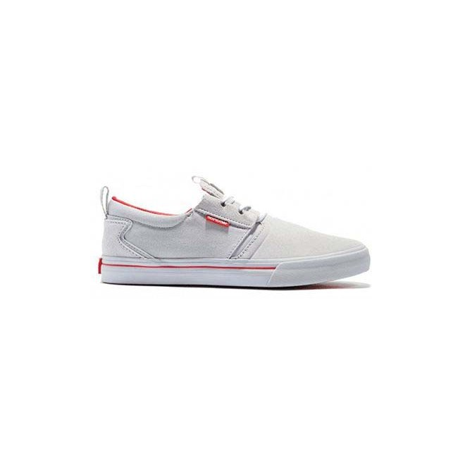 boty SUPRA - Flow Grey/Red (044)