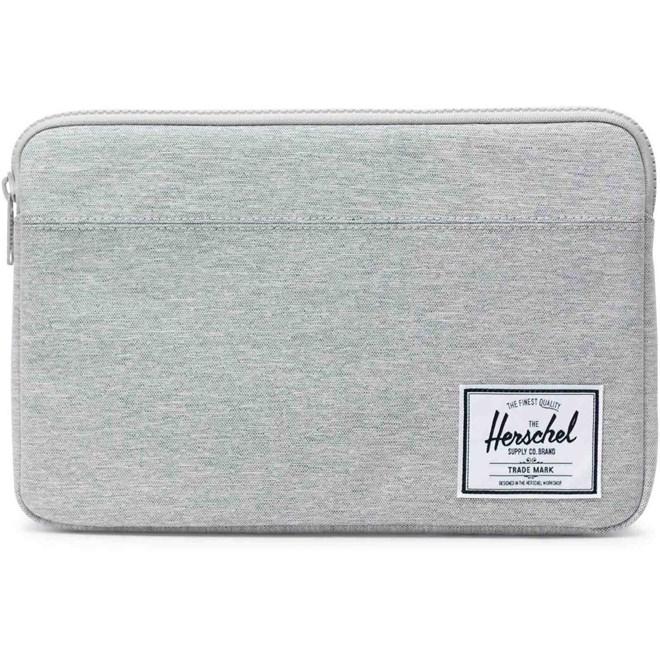 obal HERSCHEL - Anchor Sleeve for 12 inch MacBook Light Grey Crosshatch (01866)