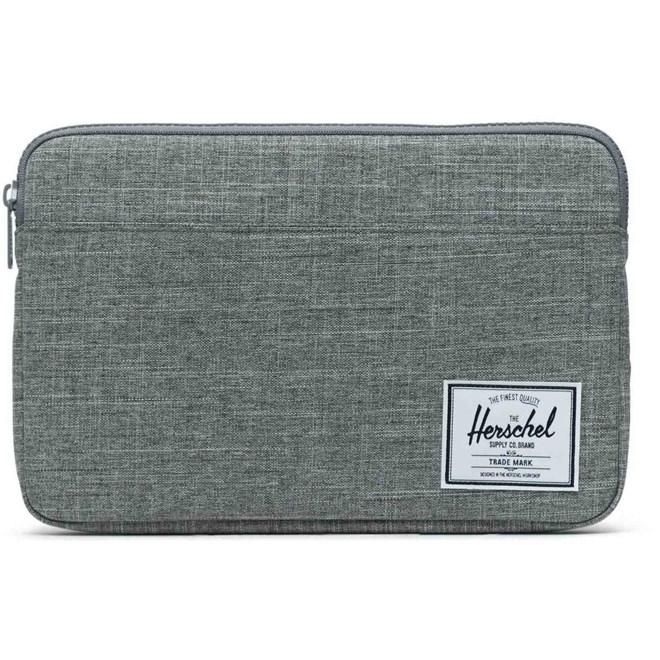 obal HERSCHEL - Anchor Sleeve for 12 inch MacBook Raven Crosshatch (02180)