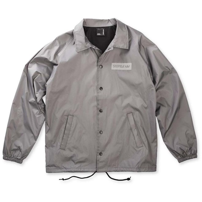 boty SUPRA - Box Coaches Jacket Light Grey (026)