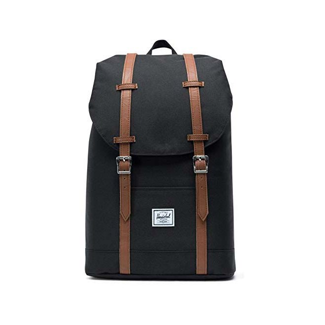 batoh HERSCHEL - Retreat Mid-Volume Black/Tan (00001)
