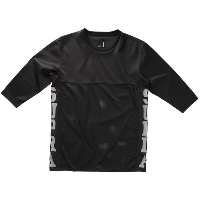 triko SUPRA - Rival 3/4 Jersey Black (008)