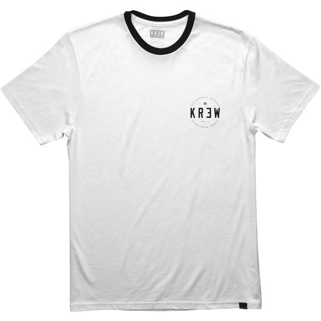 triko KREW - Lock Seal S/S Rngr White-Black (102)