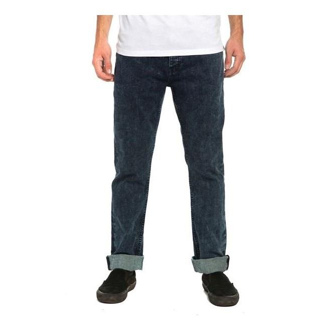 kalhoty KREW - K Slim Denim Pant Acid Blues (460)