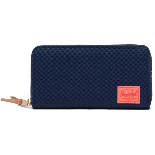 peněženka HERSCHEL - Thomas RFID Peacoat/Hot Coral (02990)