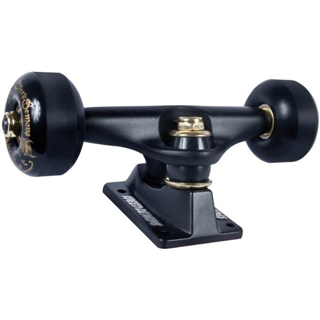 trucky SPEED DEMONS - Bandana Truck/Wheel Combo Flat Black/Flat Black (FLAT BLK)