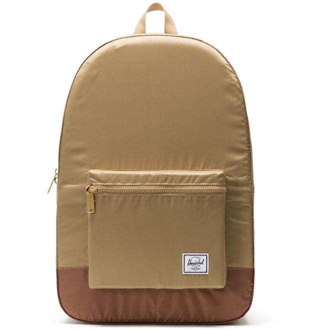plecak HERSCHEL - Packable Daypack Kelp/Saddle Brown (02455)