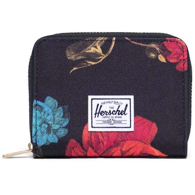 peněženka HERSCHEL - Tyler RFID Vintage Floral Black (02997)