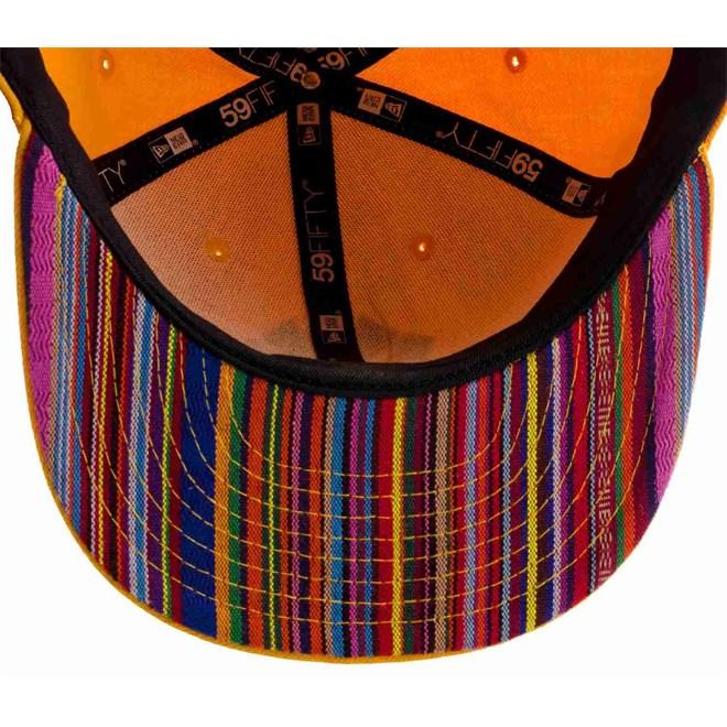 kšiltovka NEW ERA - Stripe O Fill Neyyan 13C06 Agold/Ltnavy (13C06)