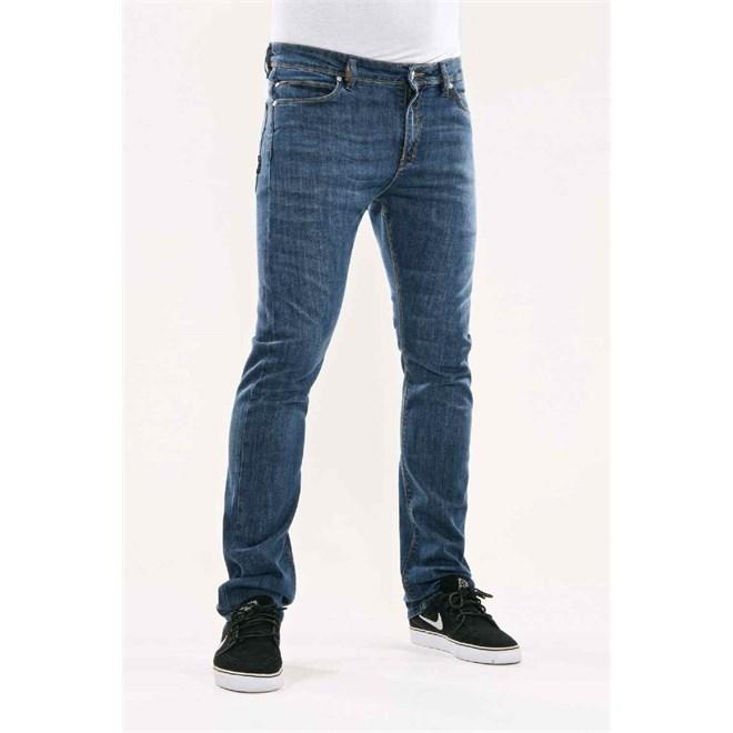 kalhoty REELL - Skin Mid Blue 2 (Mid Blue 2)