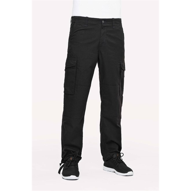 kalhoty REELL - Cargo Ripstop Black Ripstop Black (Ripstop Black)