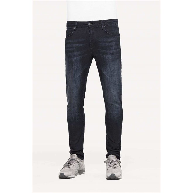 Hosen REELL - Radar Stretch Blue-Black Washed (BLUE-BLACK WASHED)
