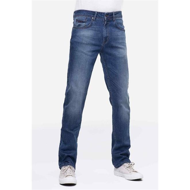 spodnie REELL - Trigger Mid Blue Vintage (MID BLUV)