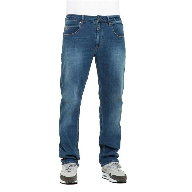 kalhoty REELL - Lowfly Mid Blue Denim (MID BLUE)