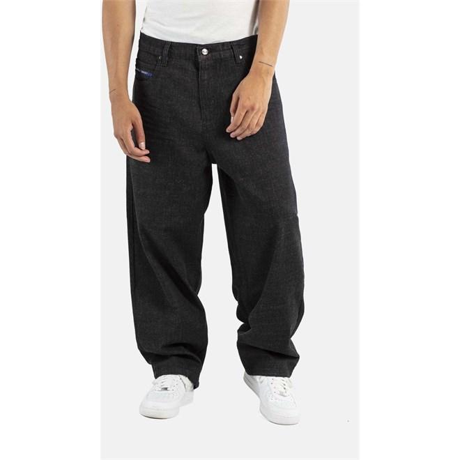 kalhoty REELL - Baggy Black Denim (120)