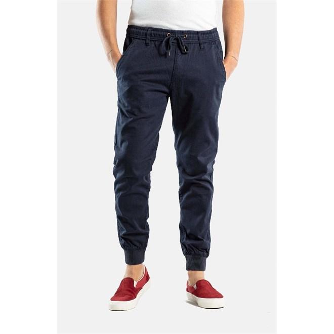 kalhoty REELL - Reflex Rib Pant Navy (1301)