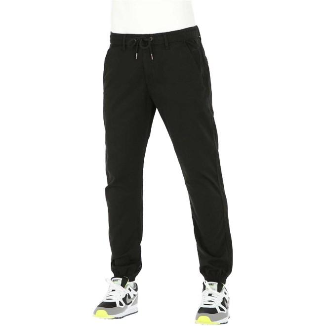 kalhoty REELL - Flow Tech Pant Flex Black (FLEX BLACK)