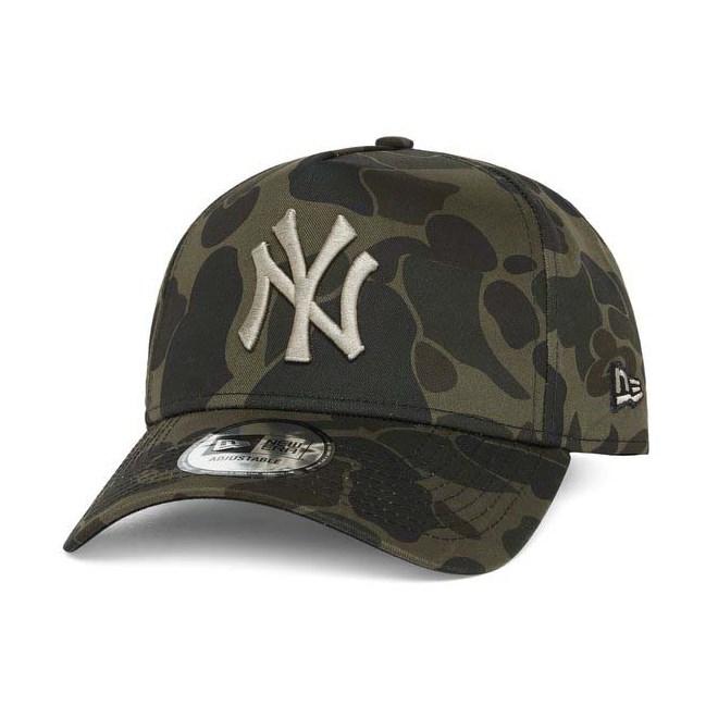 kšiltovka NEW ERA - 940 aframe MLB Camo NEYYAN (MNCBLK)