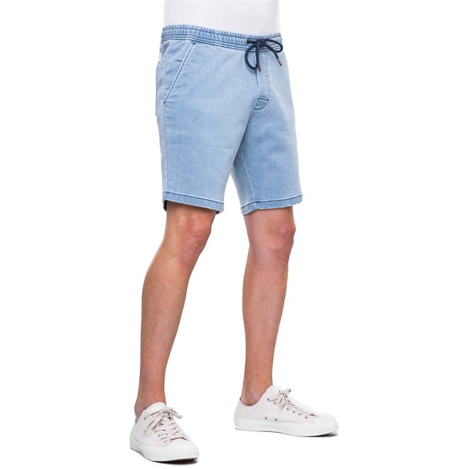 kraťasy REELL - Easy Short Light Blue Denim (1300)