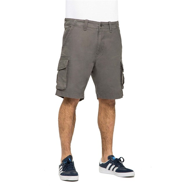kraťasy REELL - City Cargo Short Charcoal Grey (140)